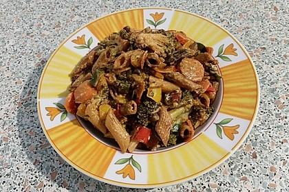 Leichte Gemüse-Nudelpfanne 13