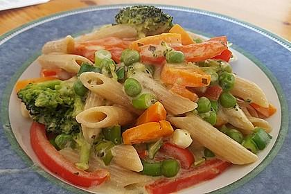 Leichte Gemüse-Nudelpfanne 3