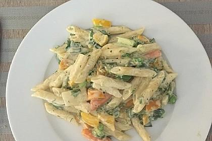 Leichte Gemüse-Nudelpfanne 5