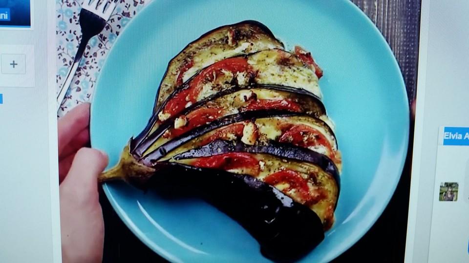 auberginen tomaten f cher aus dem ofen rezept mit bild. Black Bedroom Furniture Sets. Home Design Ideas