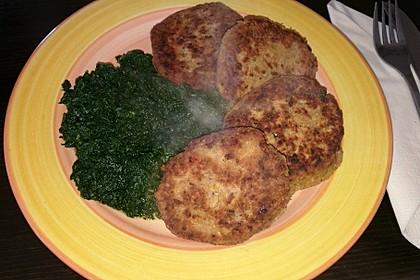 Vegetarisches gebratenes Hackfleisch ohne Soja 1