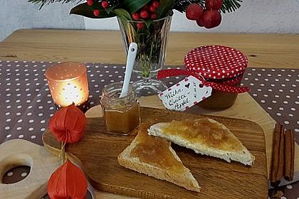 weihnachtliche quitten apfel marmelade mit sekt von bijou1966. Black Bedroom Furniture Sets. Home Design Ideas