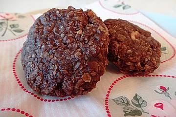 erdnussbutter schoko kokos cookies ohne backen rezept mit bild. Black Bedroom Furniture Sets. Home Design Ideas