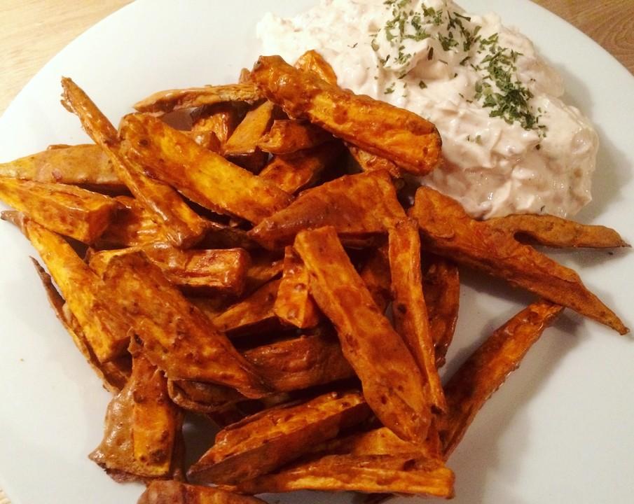 Süßkartoffel Frites