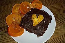 Healthy hot brownie