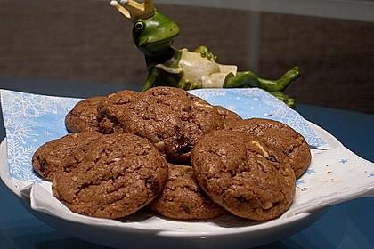 urmelis walnuss schokoladen cookies rezept mit bild. Black Bedroom Furniture Sets. Home Design Ideas