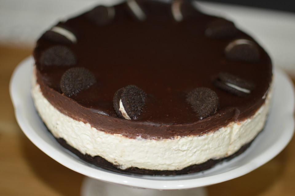 oreo torte ohne backen rezept mit bild von encina. Black Bedroom Furniture Sets. Home Design Ideas