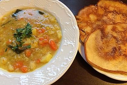 Sächsische Kartoffelsuppe - vegane Variante 8