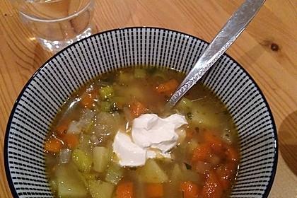 Sächsische Kartoffelsuppe - vegane Variante 13