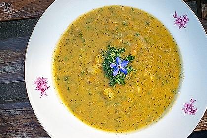 Sächsische Kartoffelsuppe - vegane Variante 2