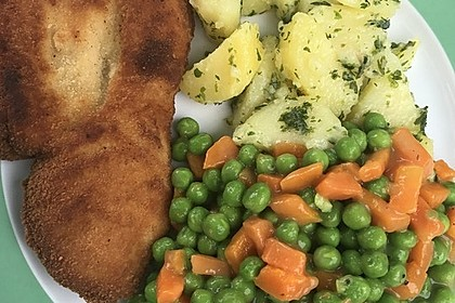 Erbsen-Möhren-Butter-Gemüse 5