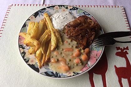 Erbsen-Möhren-Butter-Gemüse 7
