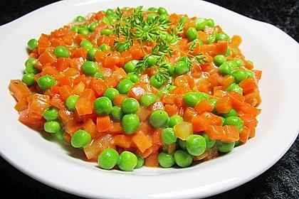 Erbsen-Möhren-Butter-Gemüse 3