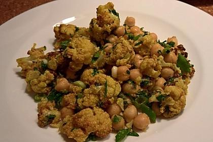 Gerösteter Blumenkohl-Salat 4