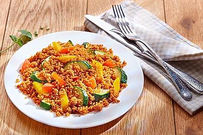 Vegetarische Couscous Pfanne