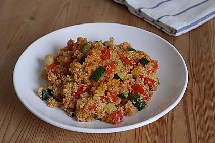 Vegetarische Couscous Pfanne 1