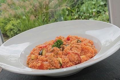 Vegetarische Couscous Pfanne 3