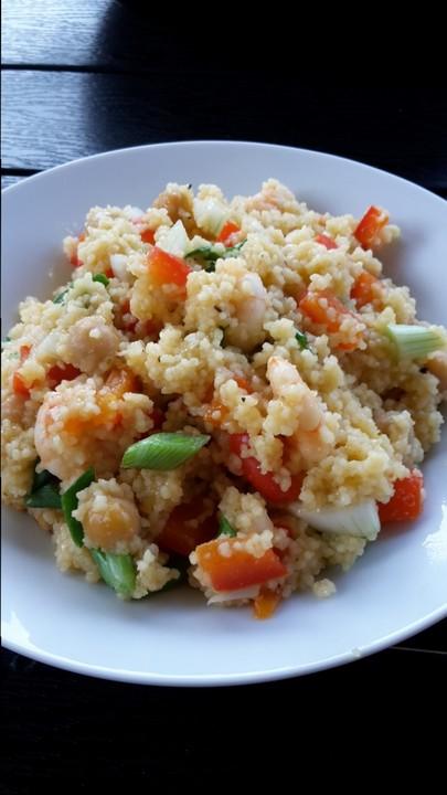 paprika couscous pfanne