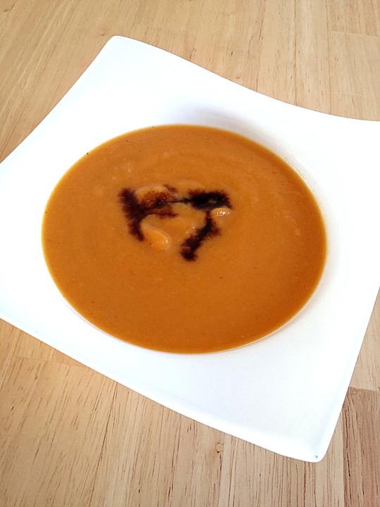 butternut suppe rezept mit bild von ordiish. Black Bedroom Furniture Sets. Home Design Ideas