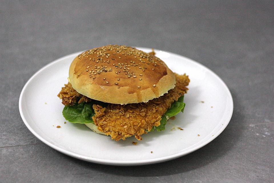 Caesar Salad Burger (Rezept mit Bild) von wasting_the_dawn | Chefkoch ...
