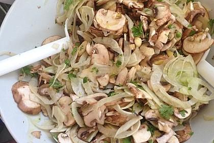 Champignon-Fenchel-Salat Low Carb 1