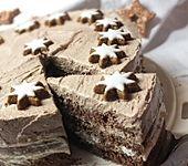 Schoko-Zimtstern-Torte