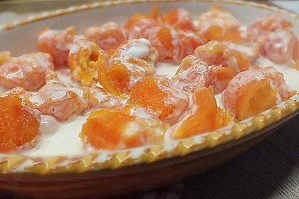 Gebackene Papaya 1