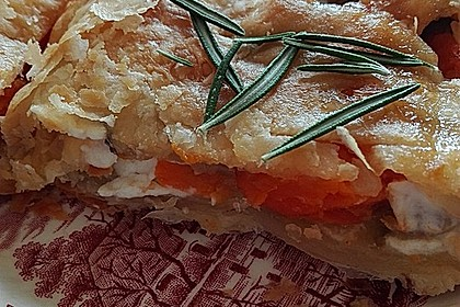 Zucchini-Feta-Strudel 5
