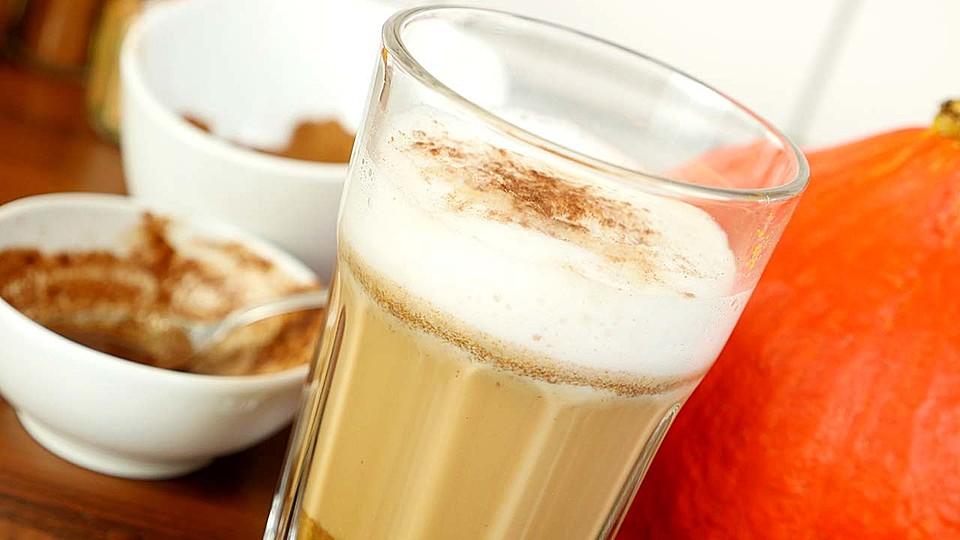 pumpkin spice latte rezept mit bild von eat and smile. Black Bedroom Furniture Sets. Home Design Ideas