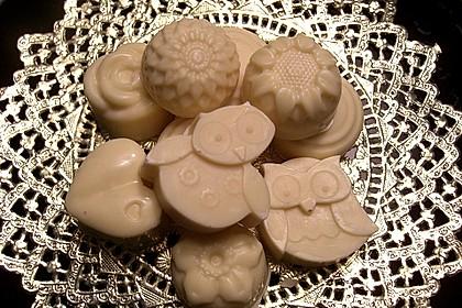Williams Christ-Pralinen mit weißer Schokolade