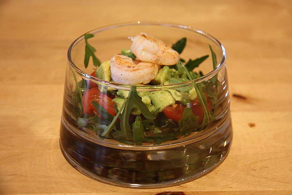 avocado rucola garnelen salat rezepte. Black Bedroom Furniture Sets. Home Design Ideas
