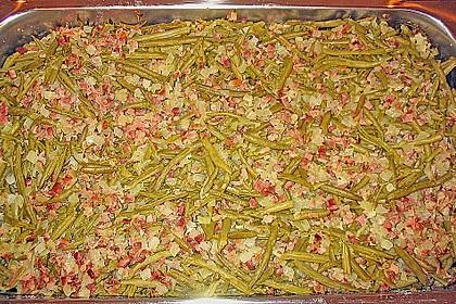 Pikante grüne Bohnen