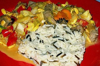 Rindfleisch Thai-Curry