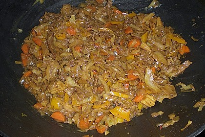 Rindfleisch Thai-Curry 1