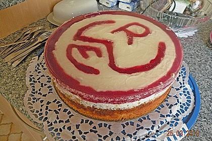 Rotkäppchen Torte 55