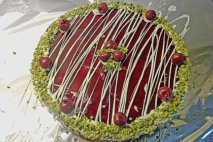 Rotkäppchen Torte 1