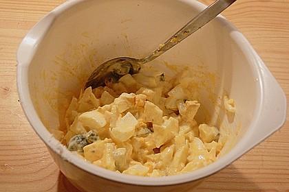 Eiersalat mit Äpfeln und Curry 34