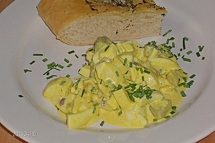 Eiersalat mit Äpfeln und Curry 18