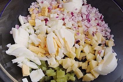 Eiersalat mit Äpfeln und Curry 27