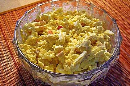 Eiersalat mit Äpfeln und Curry 24