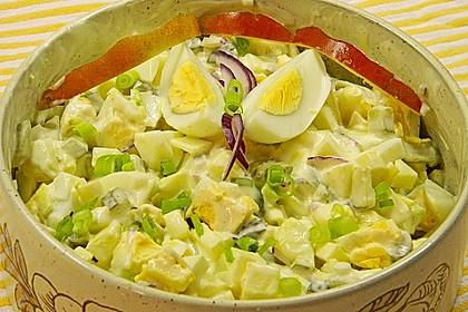 Eiersalat mit Äpfeln und Curry 8