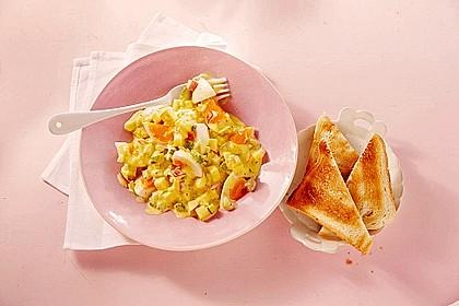Eiersalat mit Äpfeln und Curry 5