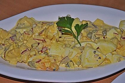 Eiersalat mit Äpfeln und Curry 12