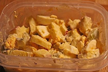 Eiersalat mit Äpfeln und Curry 35