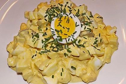 Eiersalat mit Äpfeln und Curry 3
