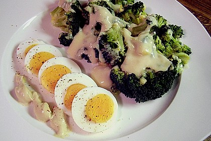 Gratinierter Brokkoli mit Käsesauce 2