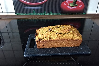Süsskartoffel-Rosinen-Brot 4