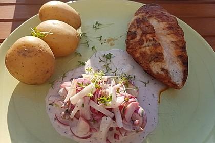 Pellkartoffeln mit Radieschen-Joghurt 5