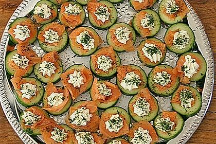 Gurken-Lachs-Häppchen 5