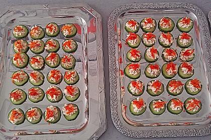 Gurken-Lachs-Häppchen 10